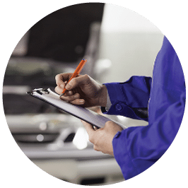 WOF inspector with checklist - Mighty Kiwi Commercial - mechanic christchurch