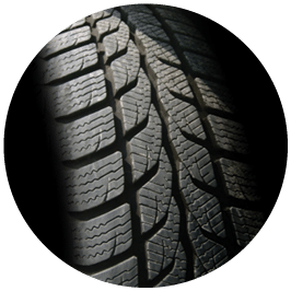 close up of tyre tread - Mighty Kiwi Commercial - mechanic christchurch